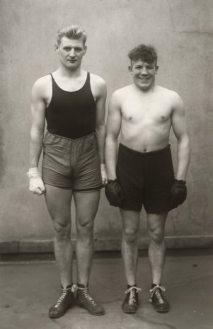 August Sander, Boxer (Boxers), 1929 (printed 1972) , Hauser & Wirth