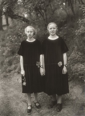 August Sander, Bauernmädchen (Country Girls), 1925 (printed 1972), Hauser & Wirth