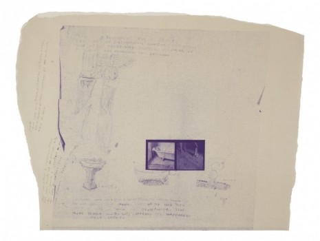 Francesca Woodman, A blue print for a temple, 1980, Marian Goodman Gallery