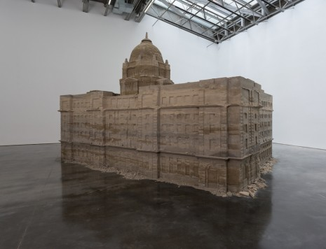 Huang Yong Ping, Bank of Sand, Sand of Bank, 2000/2018 , Gladstone Gallery
