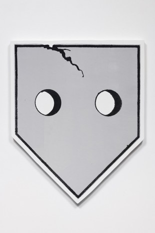 Will Boone, Home Plate, 2018 , David Kordansky Gallery