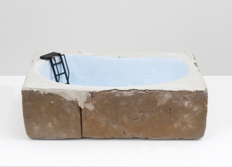 Will Boone, Drained Pool, 2018 , David Kordansky Gallery