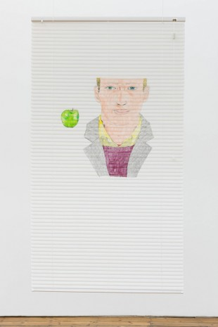 Neil Haas, Boy with apple, 2018, The Approach