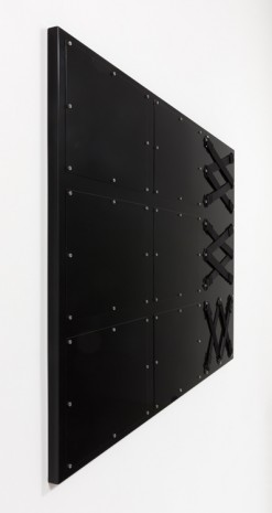 Joshua Saunders, Nine Panel Black, 2017, Steve Turner