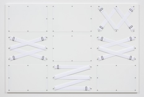 Joshua Saunders, Nine Panel White, 2017, Steve Turner