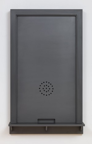 Adam McEwen, Ticket Window, 2017, Gagosian