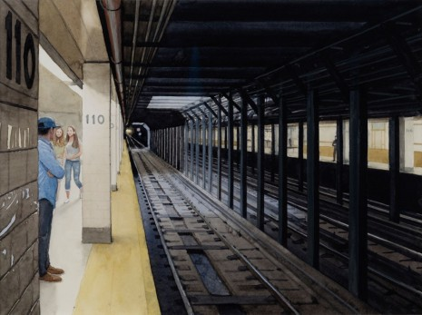 Tim Gardner, Waiting for the Subway , 2018, 303 Gallery