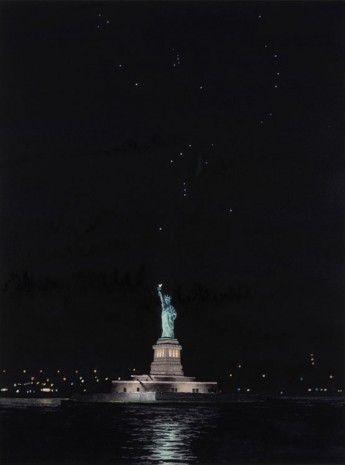 Tim Gardner, Statue of Liberty and Orion, 2018, 303 Gallery