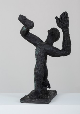 Andrew Lord, man standing II, 2017 , Gladstone Gallery