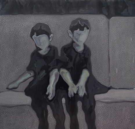 Lin Shan, Twins On The Sofa, 2018 , ShanghART
