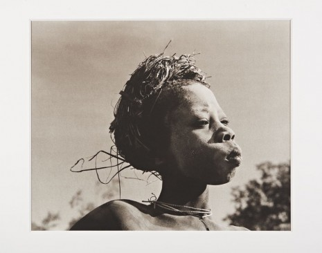 Don McCullin, A boy from the Surma Tribe, Southern Ethiopia, 2003 Printed in 2015 , Hauser & Wirth