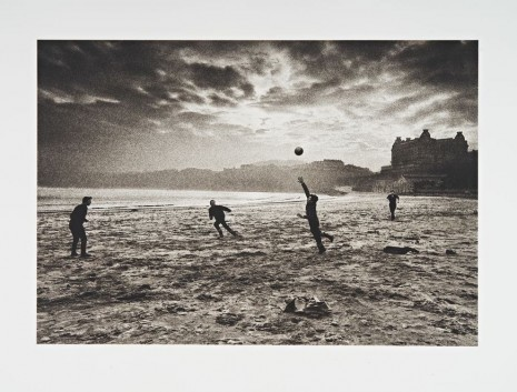 Don McCullin, Fishermen, Scarborough Beach, 1965 Printed in 2016, Hauser & Wirth