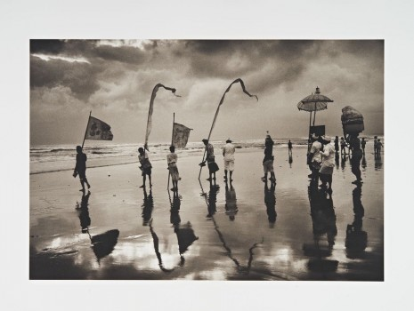 Don McCullin, Bali, Taking Gifts to the Sea Gods, 1982 Printed in 2016 , Hauser & Wirth
