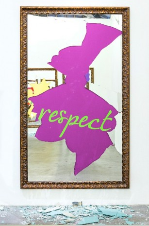Michelangelo Pistoletto, Respect (French), 2016, Tang Contemporary Art