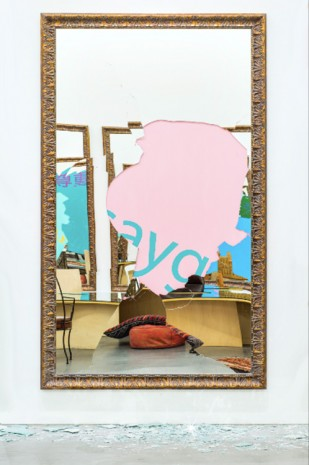 Michelangelo Pistoletto, Respect (Turkish), 2016, Tang Contemporary Art