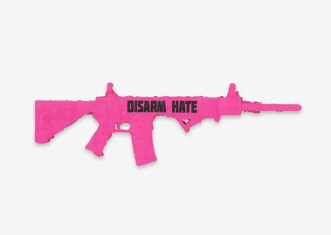 Andrea Bowers, Disarm Hate: Ode to CODEPINK (Benton), 2018 , Capitain Petzel