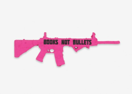 Andrea Bowers, Books Not Bullets: Ode to CODEPINK (Santa Barbara), 2018 , Capitain Petzel