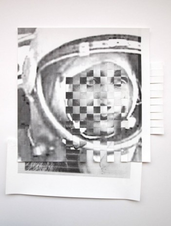 Eline McGeorge, Cosmonaut-Woolf portrait weave (A World of Out Own), , Hollybush Gardens