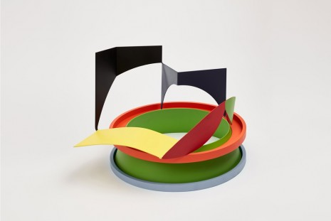 Phillip King, Ring Reel Maquette, 2013 , Luhring Augustine