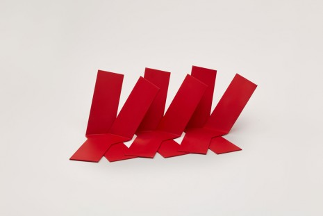 Phillip King, Slant (maquette), 2013 , Luhring Augustine