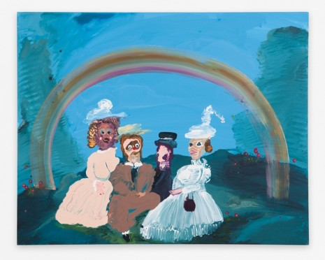 Genieve Figgis, Under the Rainbow, 2018 , Almine Rech Gallery