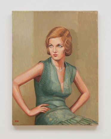 Duncan Hannah, Woman of Mayfair, 2010 , Almine Rech Gallery