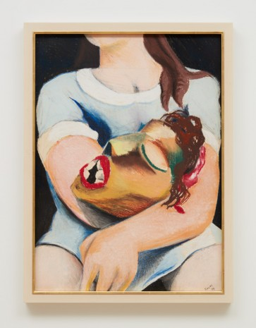 Jeff Koons, Woman with Head, 1974 , Almine Rech Gallery