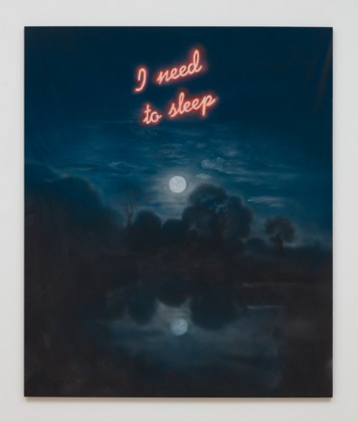Friedrich Kunath, I need to sleep, 2015, Almine Rech Gallery