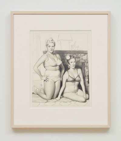 John Currin & Rachel Feinstein, Untitled, 2018, Almine Rech Gallery
