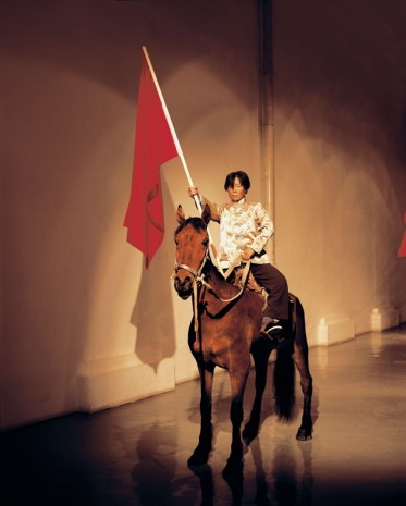 Zhang Dali, Wind Horse Flag No12, 2008, Tang Contemporary Art