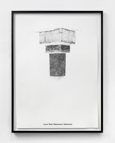Sam Durant, Acton State Monument, Minnesota, 2005 , Paula Cooper Gallery