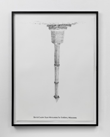 Sam Durant, Birch Coulee State Monument for Soldiers, Minnesota, 2005 , Paula Cooper Gallery
