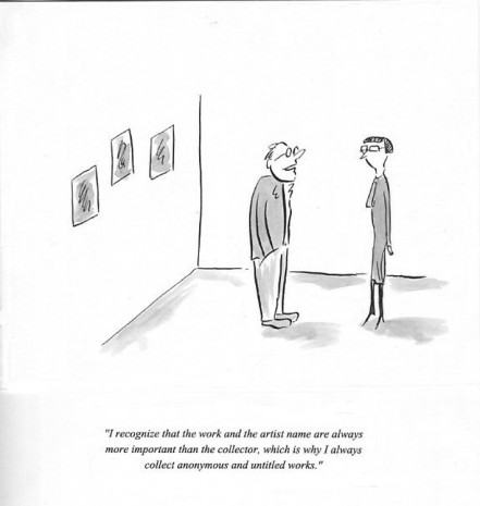 Pablo Helguera, ARTOONS: I recognize that the work…collect anonymous, , Galerie Gabrielle Maubrie