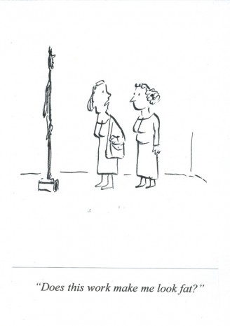 Pablo Helguera, ARTOONS: Does this work mal me look fat? , , Galerie Gabrielle Maubrie