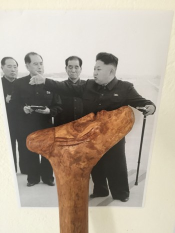 Christian Jankowski, Walking Logic - Kim Jong Un, 2017, Petzel Gallery