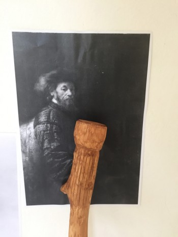 Christian Jankowski, Walking Logic - Rembrandt, 2017, Petzel Gallery