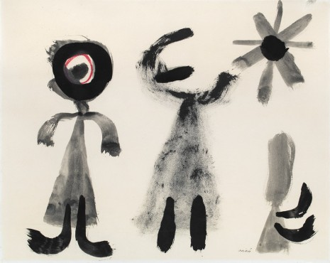 Joan Miró, Untitled, 1950 , Galerie Lelong & Co.