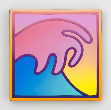 Alex Israel, Wave, 2018 , Gagosian