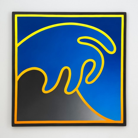 Alex Israel, Wave, 2018, Gagosian