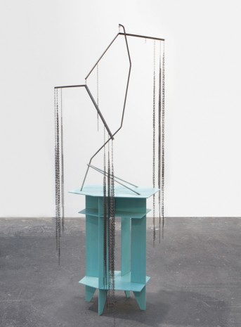 Martin Boyce, A Garden, Then a Stream; Afterwards an Interior, 2014 , Galerie Eva Presenhuber