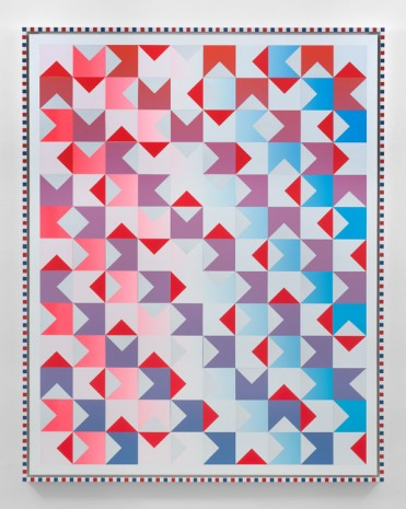 Rob Pruitt, American Quilt 2018: North, South, East, West, 2018, Massimo De Carlo
