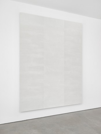 Mary Corse, Untitled (White Inner Band, Beveled), 2012