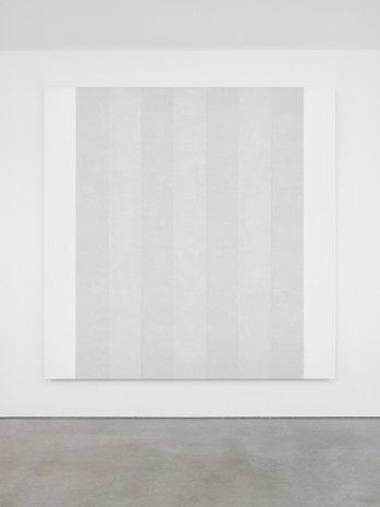 Mary Corse, Untitled (White Multi Inner Band, Beveled), 2018