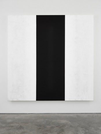 Mary Corse, Untitled (White Black White, Beveled), 2018, Lisson Gallery