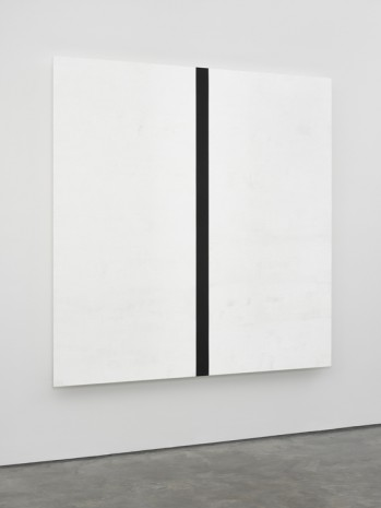 Mary Corse, Untitled (White Black White, Beveled), 2018