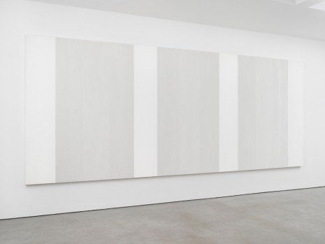 Mary Corse, Untitled (White Multiband, Vertical Strokes), 2003, Lisson Gallery