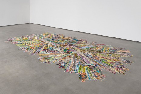 Polly Apfelbaum, Bring Back the Funk, 2005 - 2012, David Kordansky Gallery