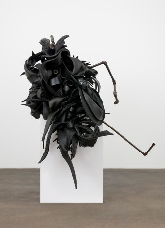 Chakaia Booker, Conversion, 2006, David Kordansky Gallery