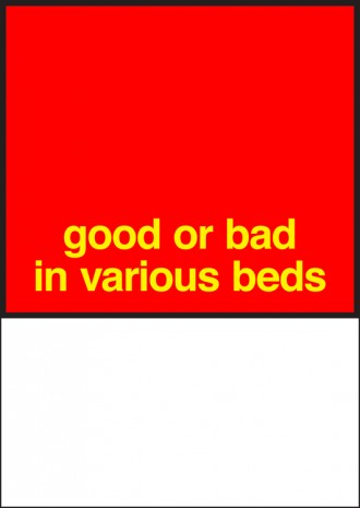 Nora Turato, good or bad in various beds, 2018, Metro Pictures