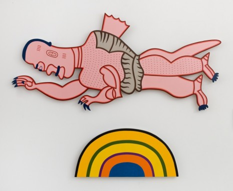 Karl Wirsum, Some Underwear Over the Rainbow, 2013, Matthew Marks Gallery